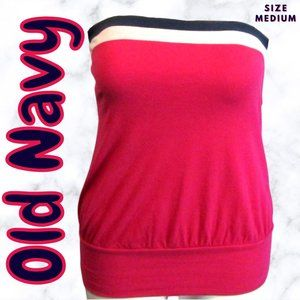 Old Navy Women's Pink Tube Top Shirt Size Medium